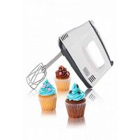 Black + Decker M350 Hand Mixer White & Grey