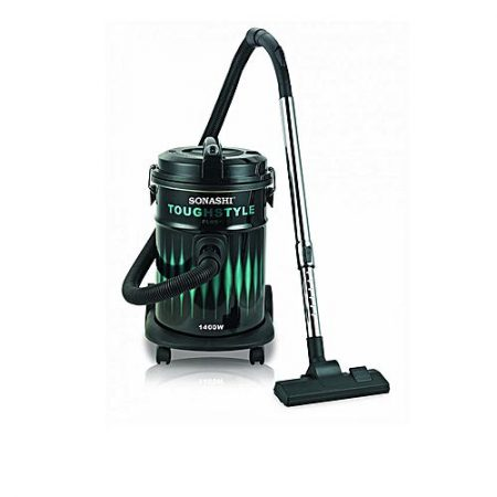 Sonashi SVC9008D Bagged Vacuum Cleaner 1400 Watts Black (Brand Warranty)