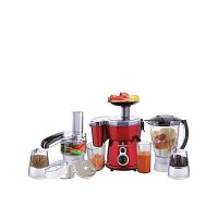 Westpoint Jumbo Food Factory with Extra Grinder WF-2803 White & Red