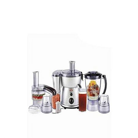 Westpoint WF-2804 S Deluxe Food Factory with Extra Grinder Silver