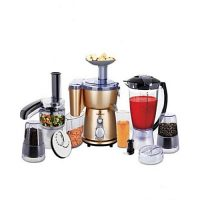Westpoint WF-2802 Food Processor 10 in 1 Golden & Black