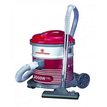Westpoint WF103 Deluxe Vacuum Cleaner with Blower Function Red & Grey