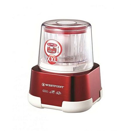 Westpoint WF1060 Deluxe Chopper 750 Watts 550ML Extra Large Bowl Red