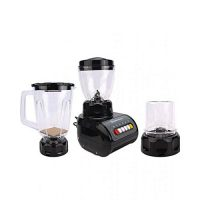 Westpoint WF9491 Deluxe Blender Dry & Wet Mill 3 In 1 Black 350 Watts