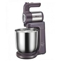Westpoint WF9504 Deluxe Hand Mixer With Stand Bowl Silver