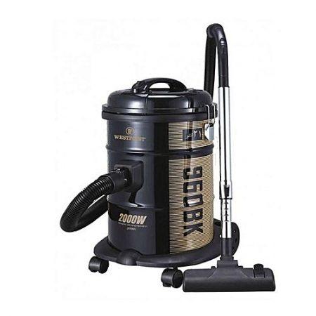 Westpoint WF960BK Deluxe Drum Type Vacuum Cleaner 2000 Watts Black