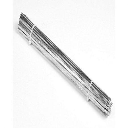 Al Jannat Pack Of 12 Bbq Flat Tikka Skewers Silver