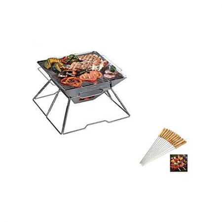 Click Shopping BBQ Grill With Sticks Multicolor