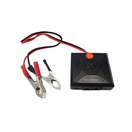 Giftsshop Power Inverter 180W Black