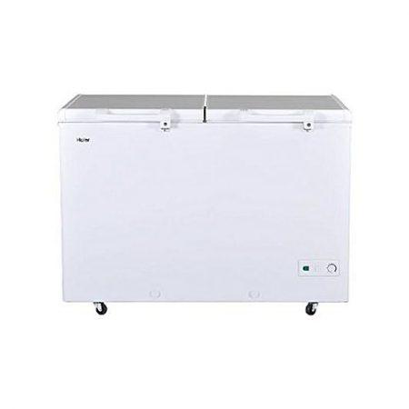 Haier Hdf-385H Double Door Deep Freezer 385 L White