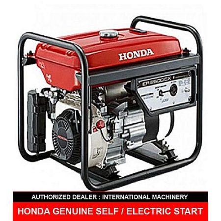 Honda HONDA ER2500CX (Electric / Self with Liquid Battery &GAS KIT (GAS &PETROL) Generator 2.2 KW Red (HONDA ATLAS (PVT) LTD WARRANTY