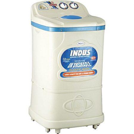 Indus Washing Machine Plastic Body 360-White