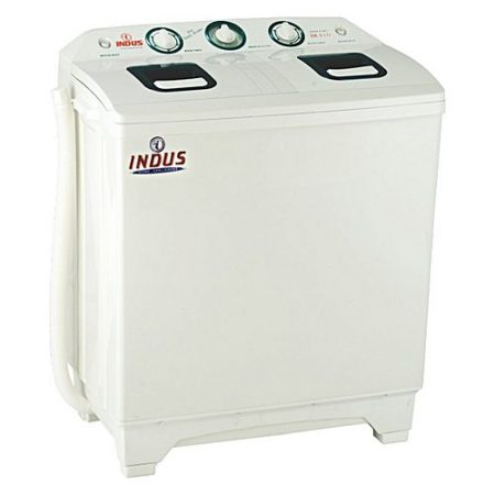 Indus Washing machine Twin Tub Plastic Body-White