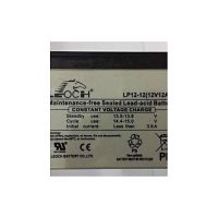 J'S Leoch12V 12Amp Maintenance Free Sealed Lead-Acid Battery Grey