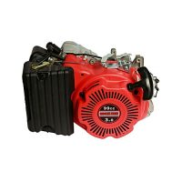 MAC100D Petrol Engine for Generator 1 KVA Self Start Red