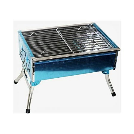 NY STORE Silver Folding BBQ Grill
