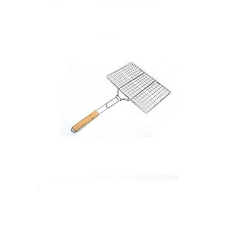 Rafay &Shafay Collection BBQ Hand Grill Silver