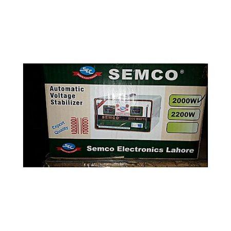SEMCO Appliances Stabilizer 99.9% copper 3000 W 2 Relay