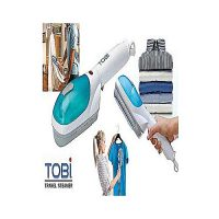 TOBI Plastic Steam Iron Brush For Travelling Blue & White