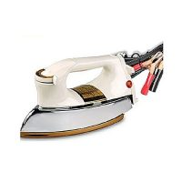 UnitedMall DC 12 Volt Solar and Battery Iron