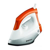 Westpoint Deluxe Dry Iron WF-283 1200 Watts White & Orange