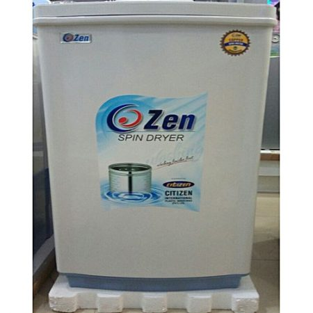 "Zen Top Load Dryer (CZ-450) White Blue 12"" -"