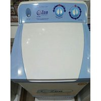 Zen Top Load washing machine (CZ-700) White Blue body,copper motor,electric sheet,energy saver,unique design
