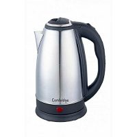 Cambridge Appliance Cordless Electric Kettle - SK-9779 - 1.8 Liter - Black & Silver