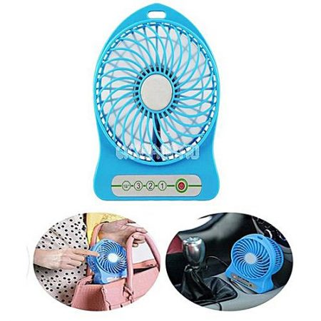 China Town Portable Fan, Mini Usb Rechargeable Fan With 2600Mah Battery Operated And Flash Light,For Traveling,Fishing,Camping,Hiking,Backpacking,Bbq,Baby Stroller,Picnic,Biking,Boating ha64