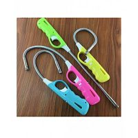 Click Here Pack of 4 - Utility BBQ Flexible Lighter - Multicolor ha92