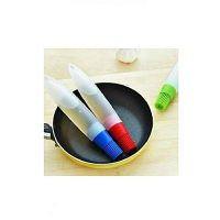 Click Shopping Pack Of 2 - Silicone Bbq & Baking Oil Bottle With Brush - Blue & Red ha154