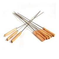CM BBQ Flat Barbecue Skewers for Tikka -12pcs ha442