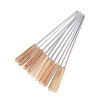 CM BBQ Flat Barbecue Skewers For Tikka - 6pcs ha384