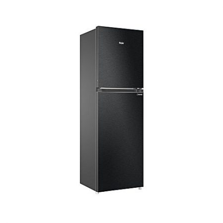 Haier Refrigerator - Hrf-398Tbb - Black Color - 10 Years Brand Warranty