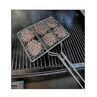 HT Products Bbq Stainless Steel Hand Grill Large ha208
