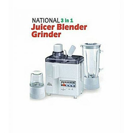 NAZIR STORE 3in1 Juicer +Blender +Grinder N-555