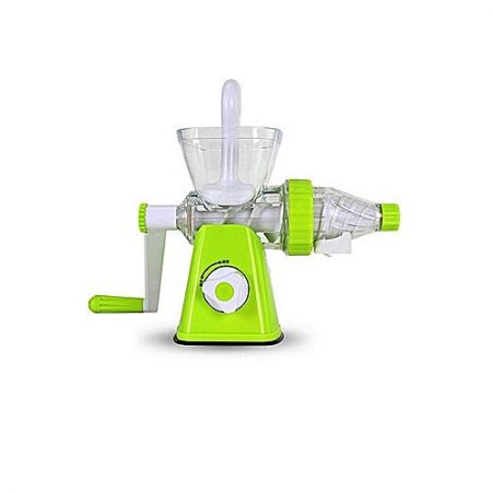 Online Communication shop Multifunction Hand Operated Manual Juicer - Green