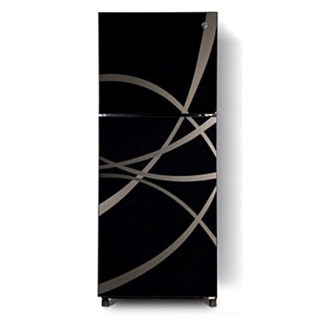 PEL PRGD 2550 - Desire Glass Door Refrigerator - 240 L - Abstract Black