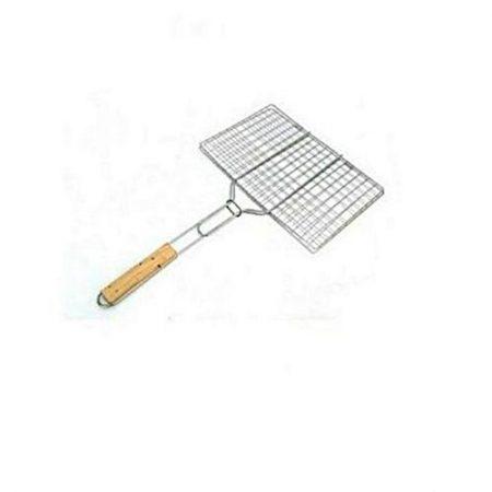 shah g crockery Chrome Plated Bbq Grill Wire Mesh ha134