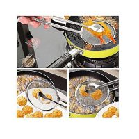 Smart Click Bbq , Buffet, Chicken Fried Frying Mesh Colander Filter Oil Drainer Tong ha74