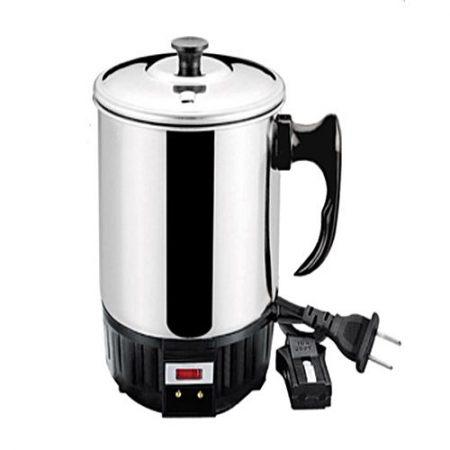 Trusti Product Electric Tea Kettle - Black & Silver Trusti Products