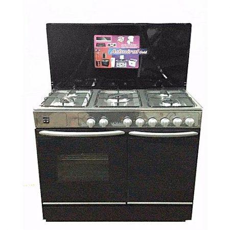 Admiral Cooking Range 5 burners size 34 x 22 x 34 ha106