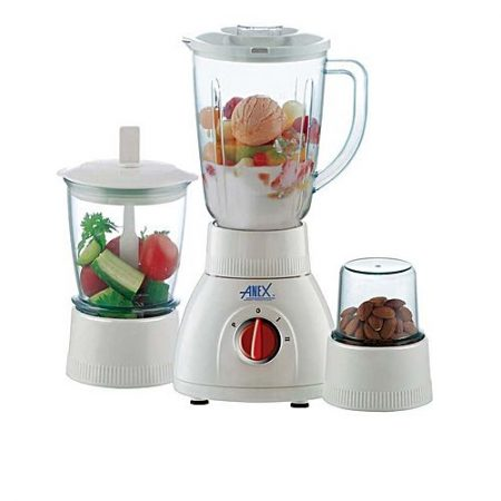 Anex 3 in 1 Blender - 450 W - White ha327