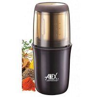 Anex AG-639 - Deluxe Grinder & Stainless steel blade - Brown - 200 Watts ha972