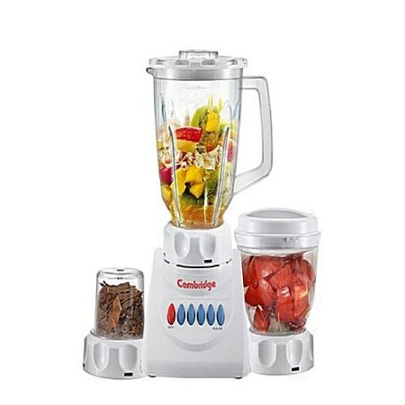 Cambridge Appliance BL-210 -Juicer Blender & Sauce Maker With Dry Mill - 250W - White ha902