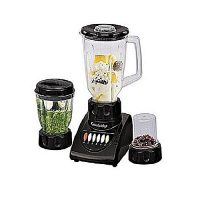Cambridge Appliance BL 2106-3-In-1 Juicer Blender & Sauce Maker With Dry Mill -250W-Black ha24