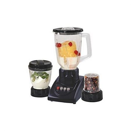 Cambridge Official BL 2066 - Blender with Mill - 250W - Black ha946