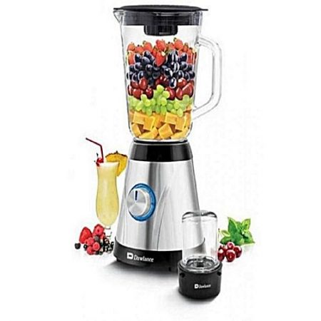 Dawlance DW-600 - 2 in 1 Juicer & Blender - Silver & Black ha879