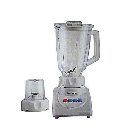 Deuron 2 in 1 Juicer Blender - White ha679