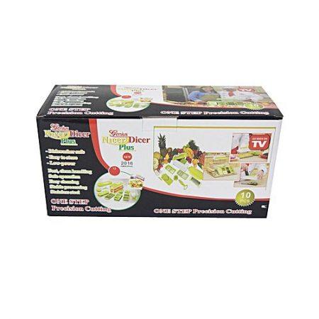 Quickshopping Genius Nicer Dicer Plus Vegetable and Fruit Slicer 10 Pcs ha13
